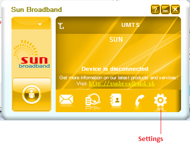 Sun broadband stick setup windows