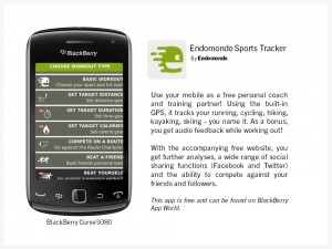 Endomondo Sports Tracker App