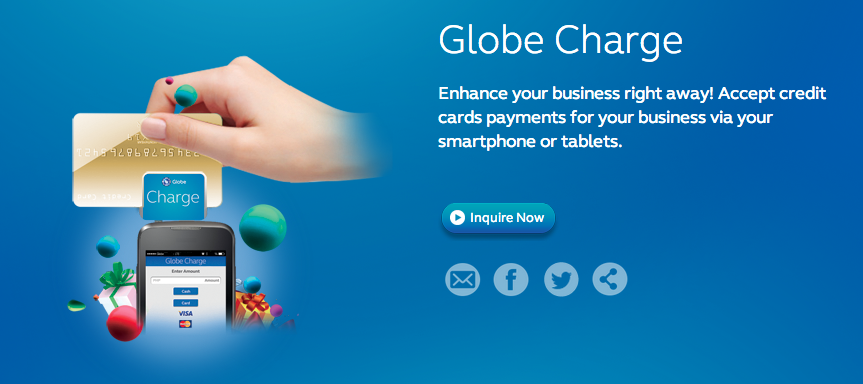 Globe Charge and Globe PowerPay+