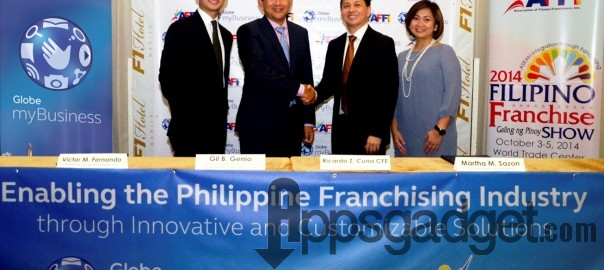 Globe myBusiness Upbeat on Franchising Prospects for New mSMEs with AFFI tie-up