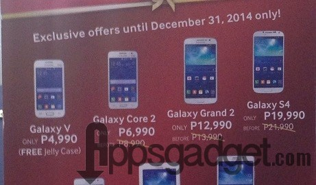 Samsung's Galaxy of Christmas Wishes with Huge Discounts to Smartphones