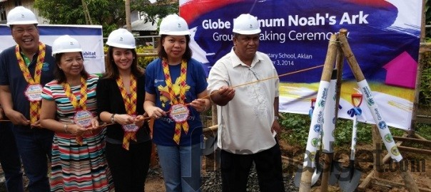 Globe Platinum, Habitat for Humanity hold Noah's Ark classroom Groundbreaking Ceremony in Aklan