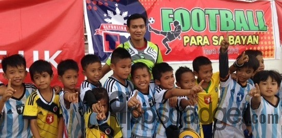 TM Football Para Sa Bayan Kicks-off series of Festivals in Iloilo City