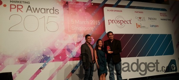 Globe Wins bronze at the 2015 PR Awards for the Awareness Campaign on Consumable Data Plans