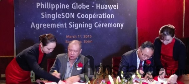 Globe is first operator in the world to adopt the Huawei SingleSON solution  Philippine telco's intelligent network to enhance user experience