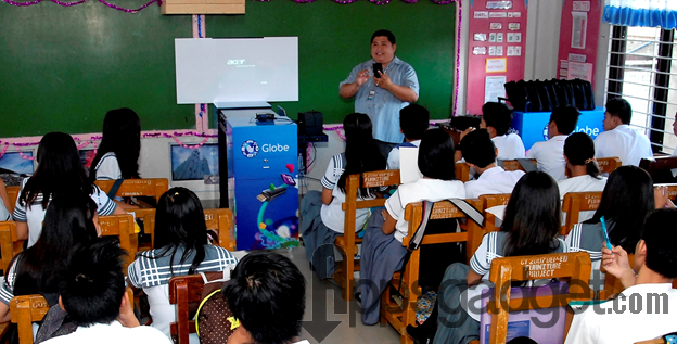 Globe Prepaid creates access to st century learning in Batangas Bacolod