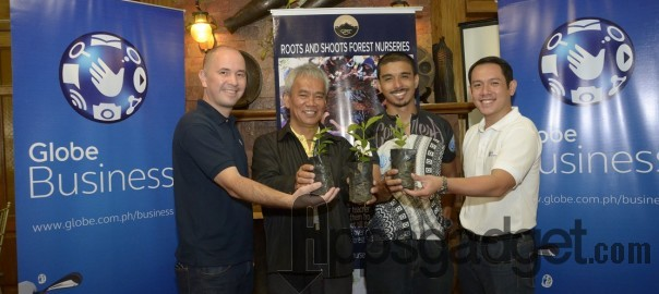 Globe Business Teams up Cordillera Conservation Trust to power 'Cordi 6' on May 2, 2015, Saturday, in Tublay, Benguet