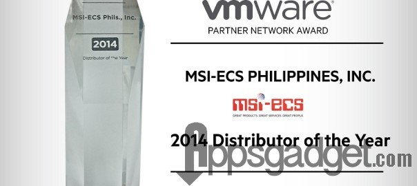 VMware wins MSI-ECS with Distributor of the Year Award