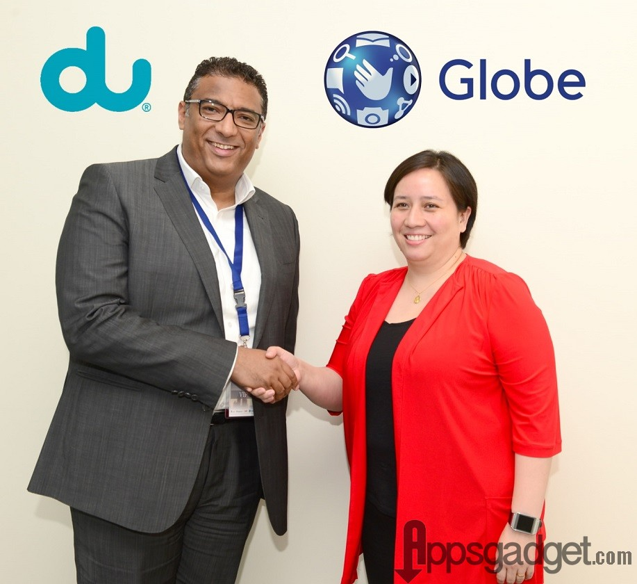 Globe and du partnership