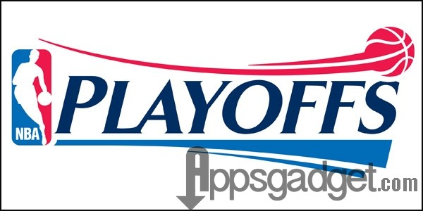 nba playoffs logo