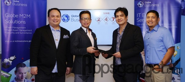 Globe Business gets nod from leading cargo forwarding company  Provides mobile services and fleet management system