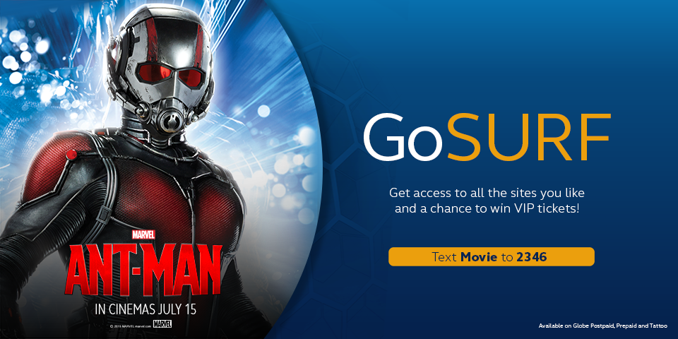 Free VIP Tickets in Marvel's Ant-Man Movie