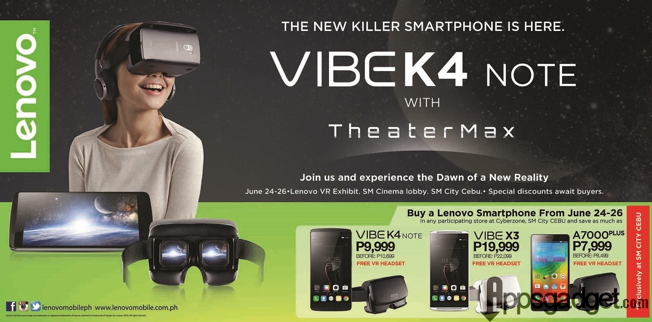 Cebuanos can now experience Virtual Reality with Lenovo smartphones