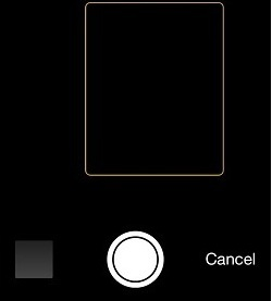 Solved: camera black screen issue on iPhone