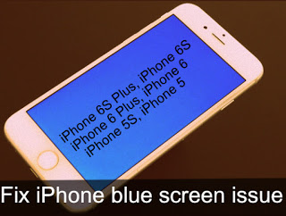 Guide to fix iPhone blue screen issue: Black or white colors