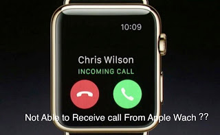 Apple watch can't answer call: Fixed Steps