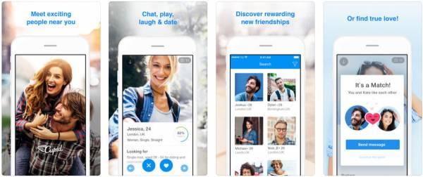 cupid dating site app
