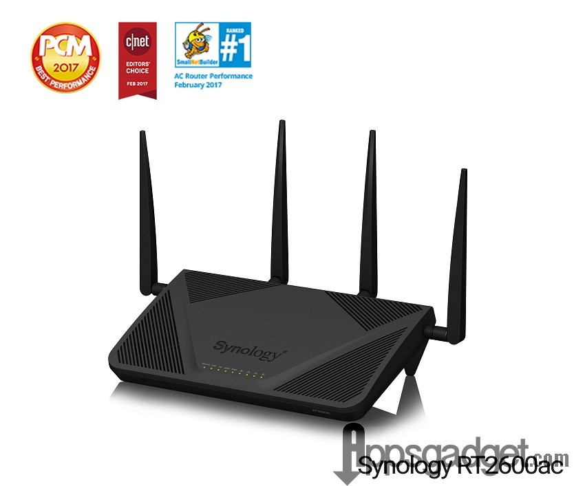 Synologys Router RTac delivers secure fast speed connectivity