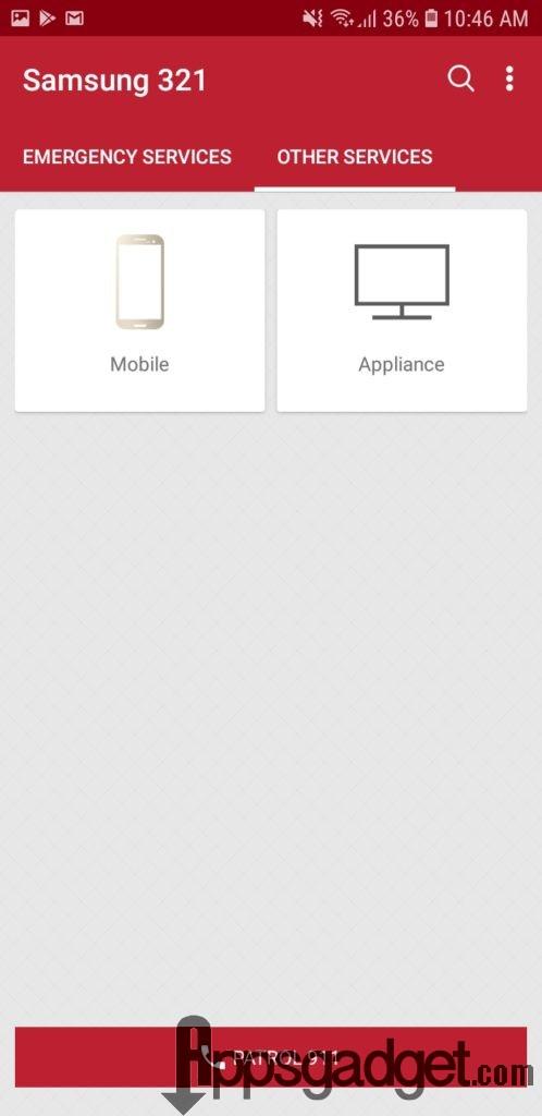 Samsung 321 App