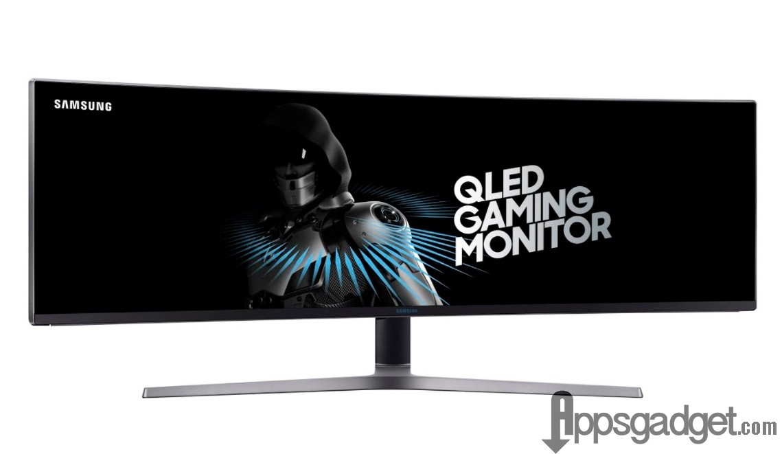 Samsung 49-in QLED Curved Gaming Monitor