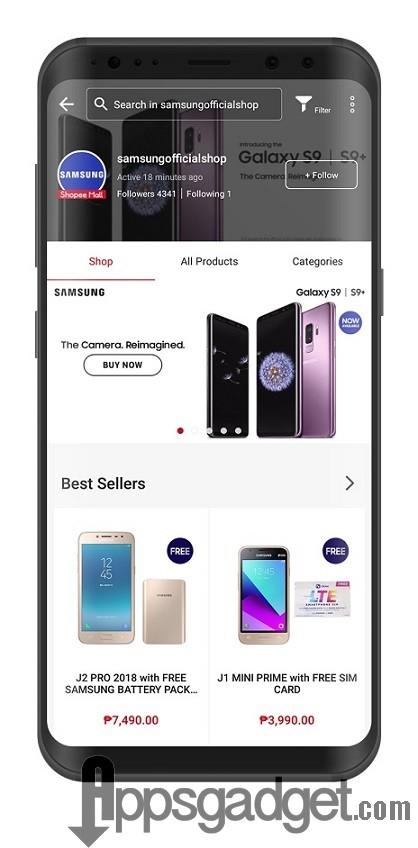 Shopee Samsung Partnership