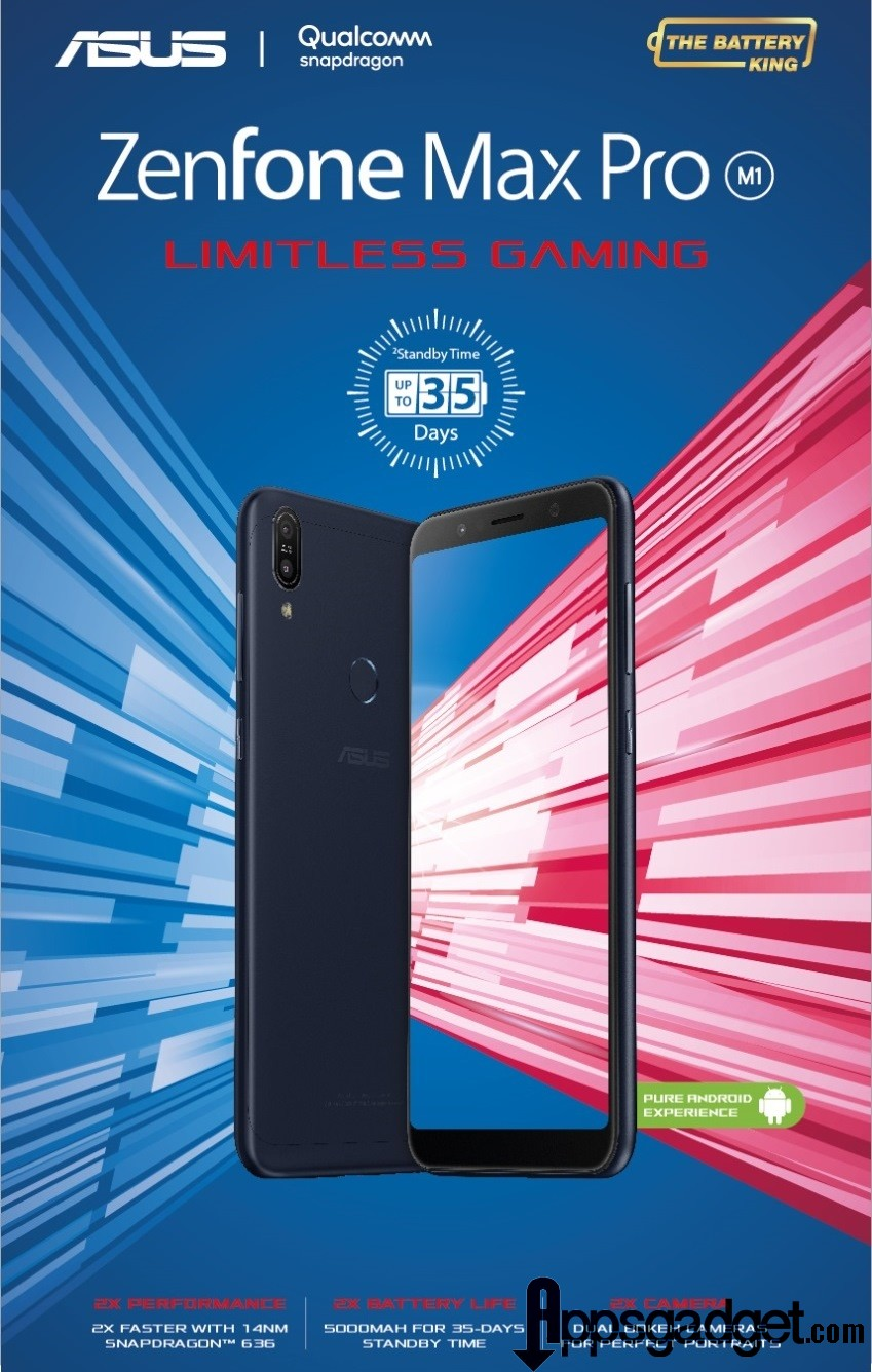 ZenFone Max Pro Limitless Gaming