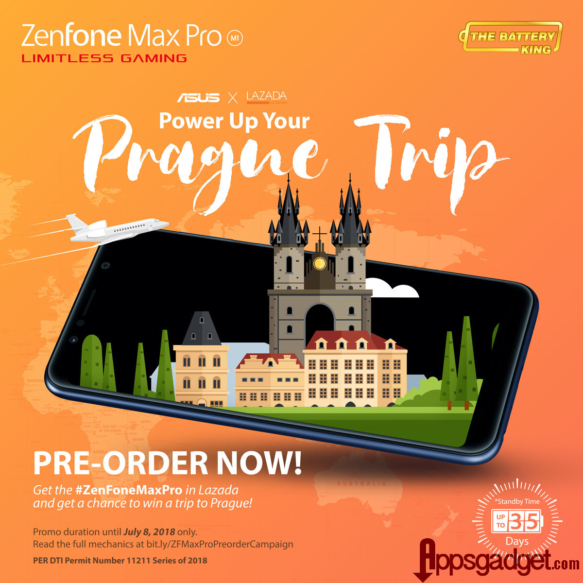 ZenFone Max Pro M Trip To Prague