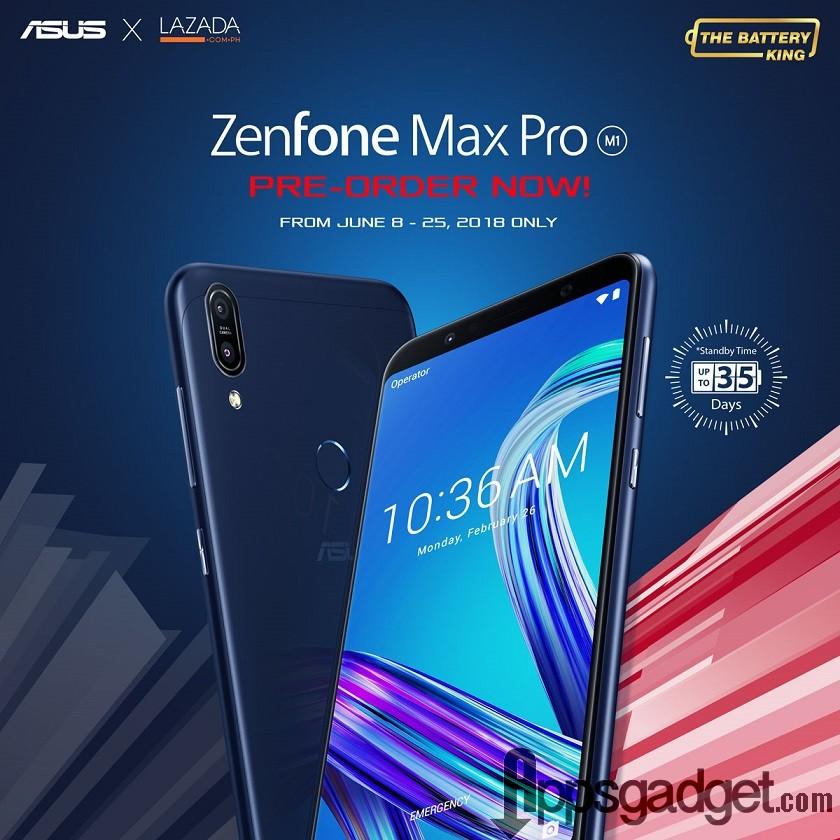 ZenFone Max Pro Pre order Now