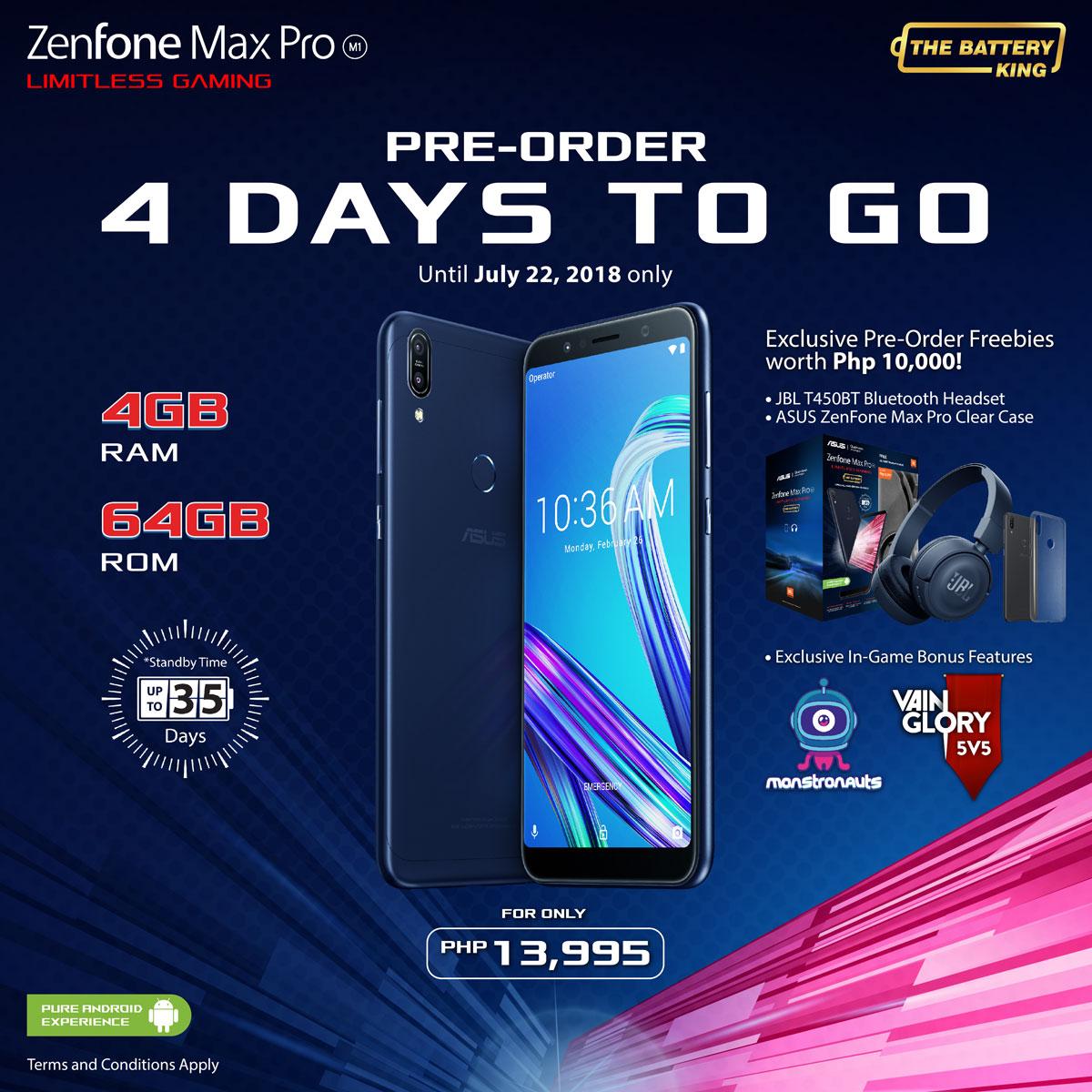 ZenFone Max Pro Pre Order