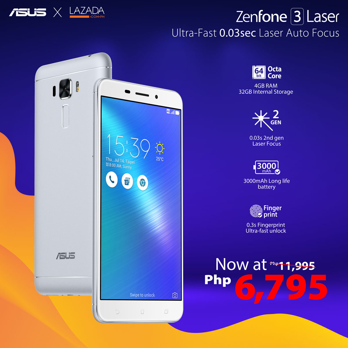 Lazada Flash Sale ZenFone  Laser