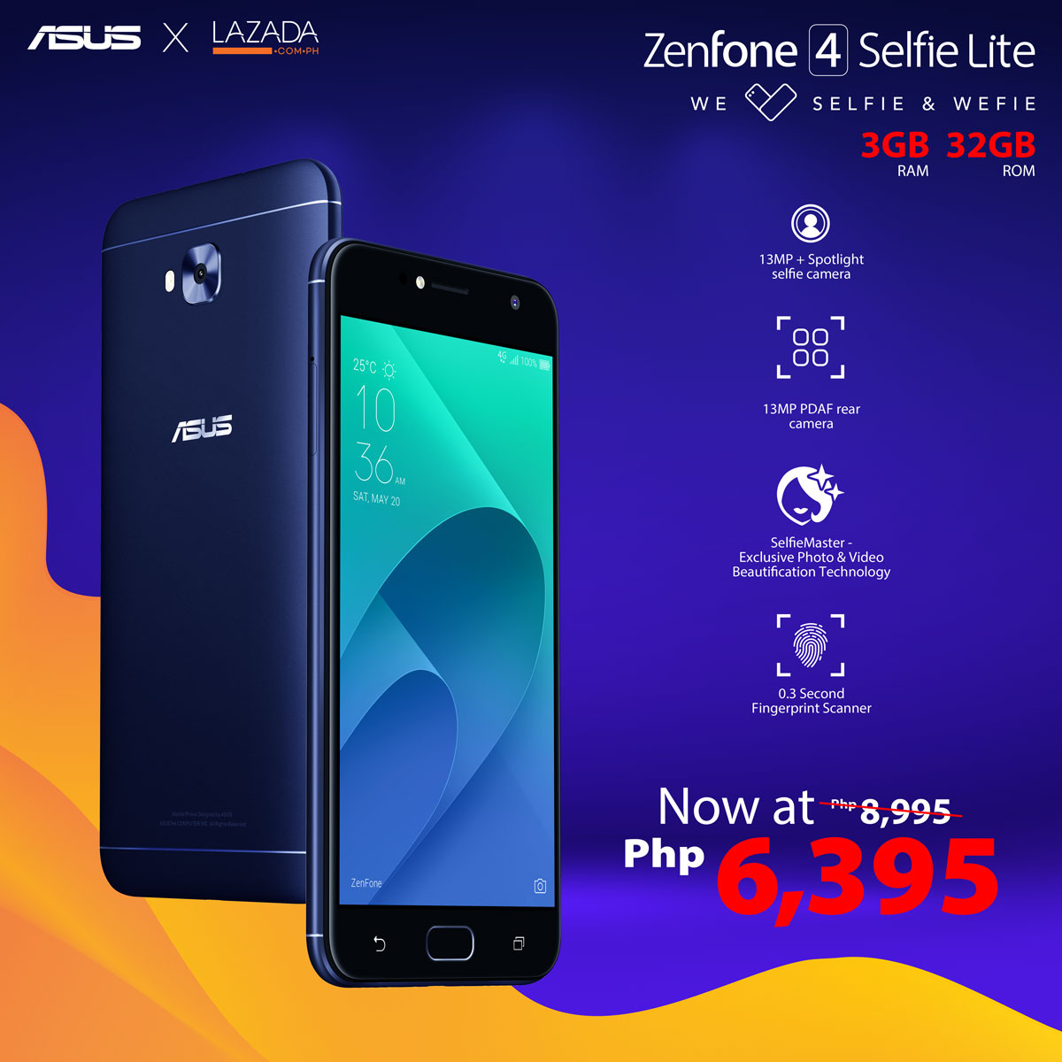 Lazada Flash Sale ZenFone  Selfie Lite
