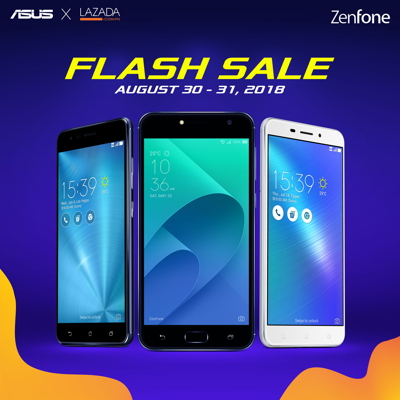 ZenFone Lazada Flash Sale