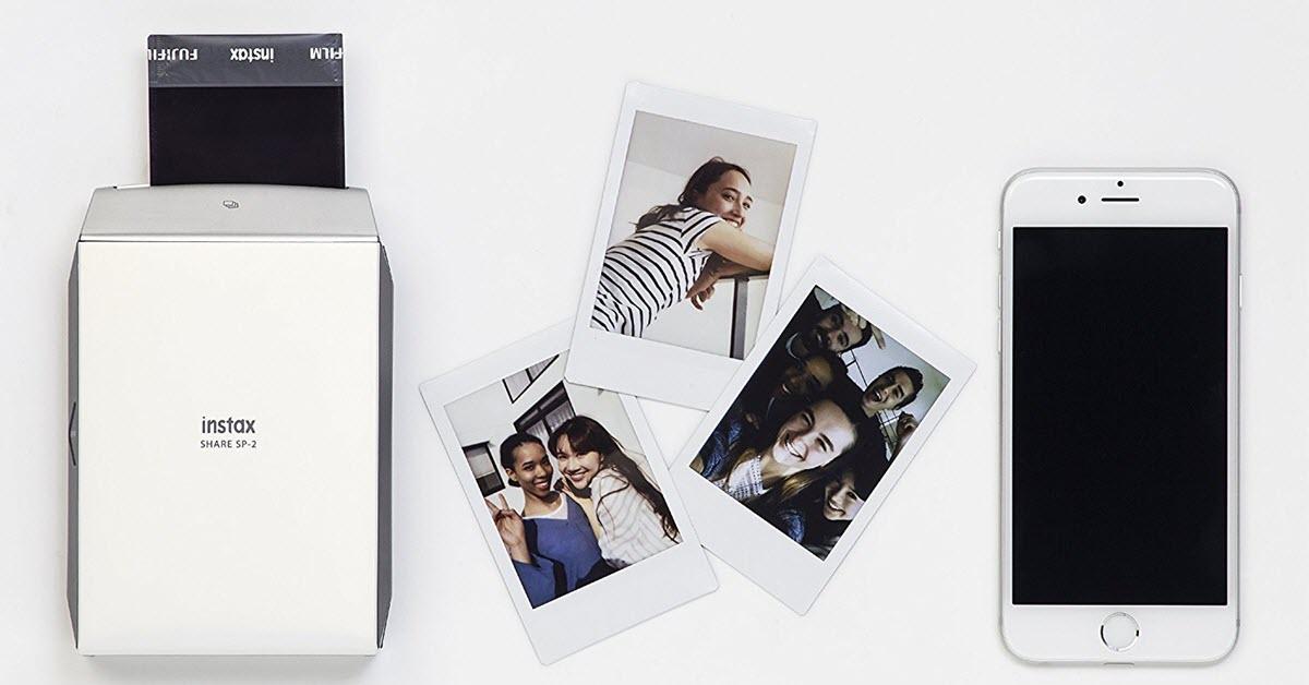 Portable Smart Phone Photo Printer - Fujifilm INSTAX SHARE SP-2