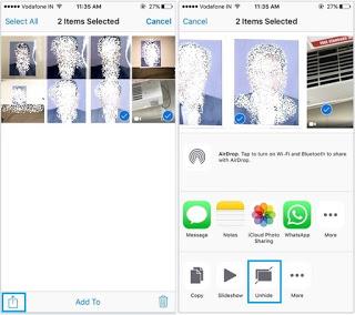 Unhide hidden photos in iOS 10/ 9: iPhone 7/ 7 Plus, 6S, 6, 6 Plus [how to]