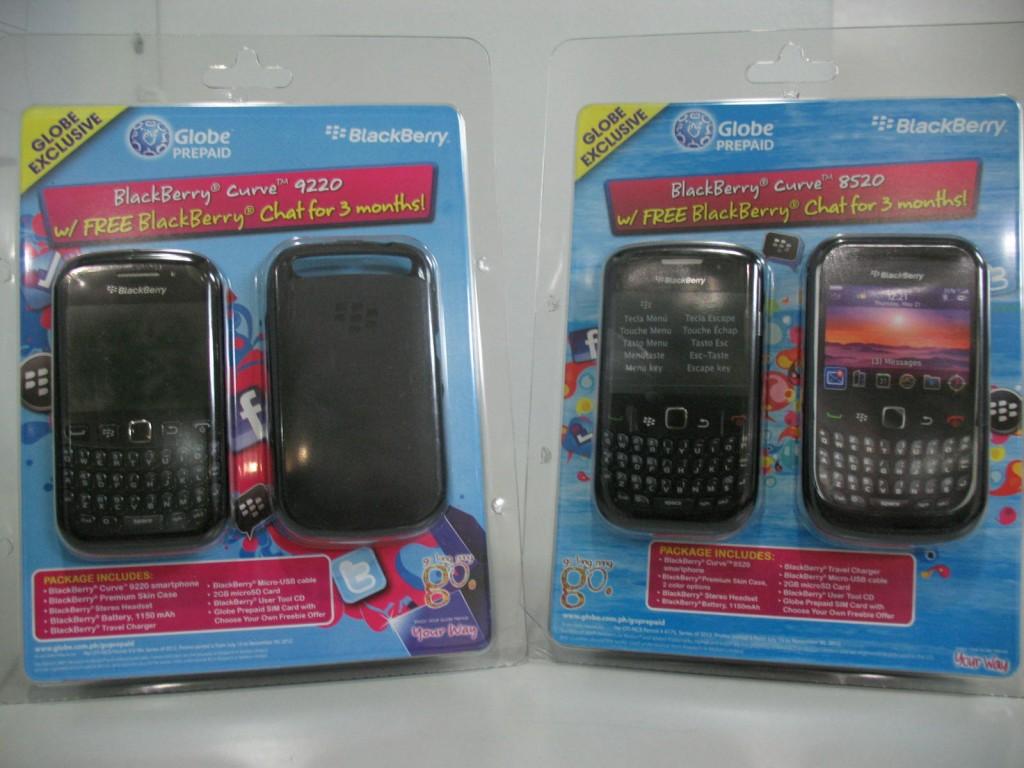 BlackBerry Prepaid Kit  Globe