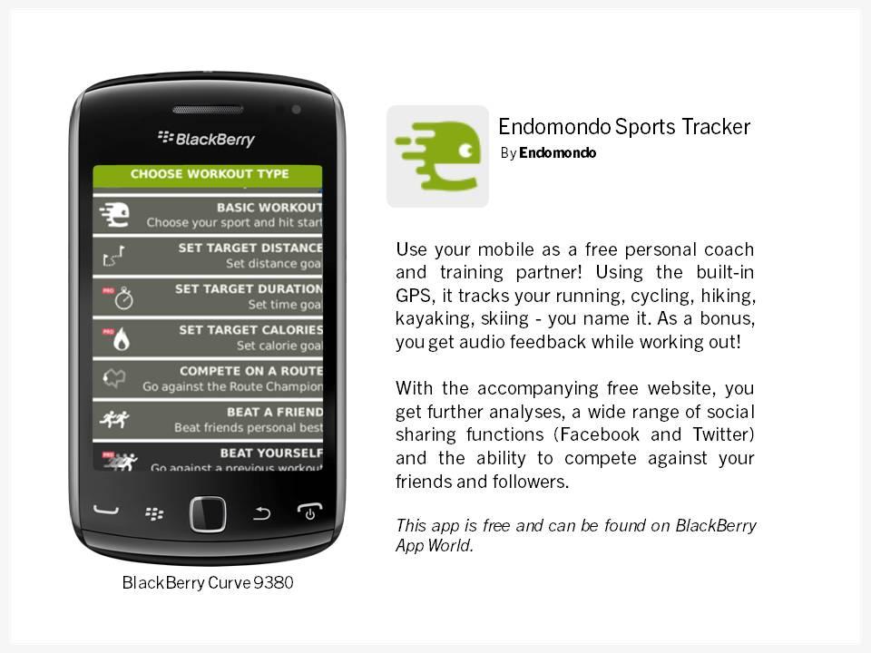 Endomondo Sports Tracker App