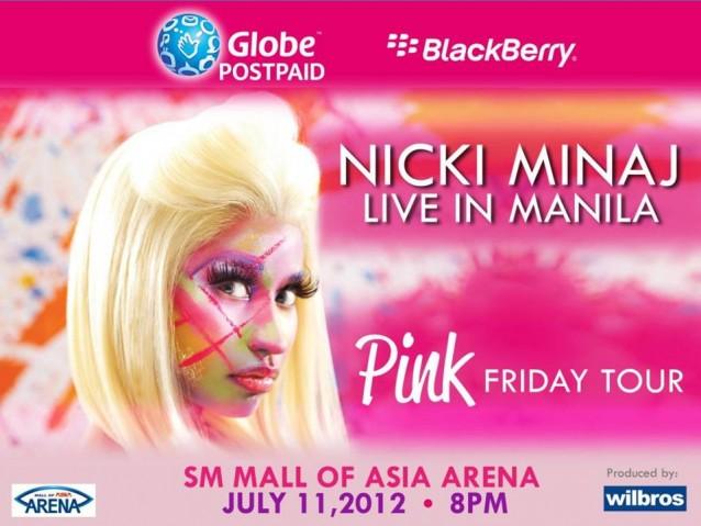 Nicki Minaj Manila