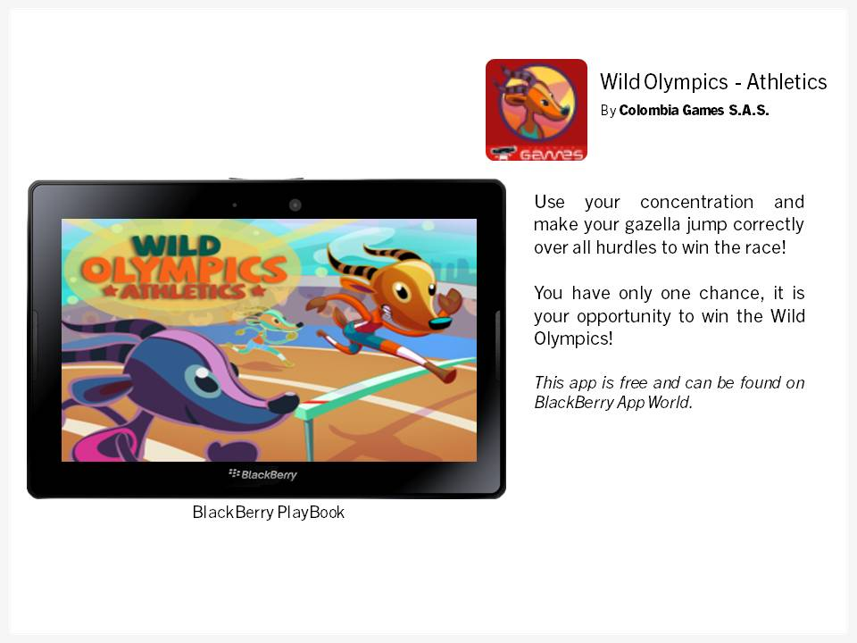 Wild Olympics App