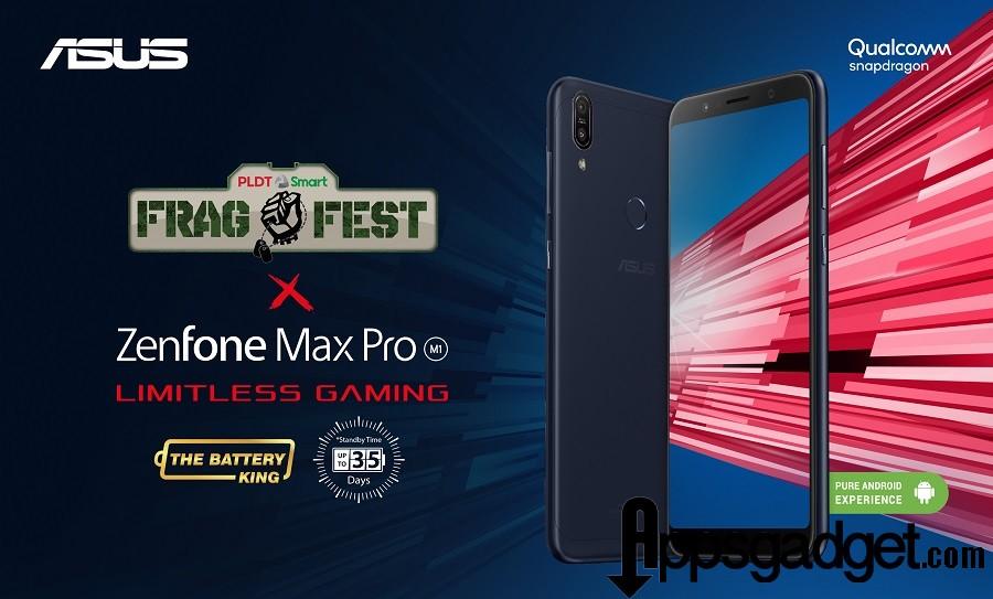 Zenfone Max Pro at Fragfest