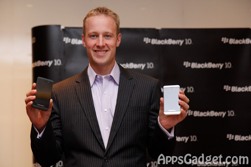blackberry z launching