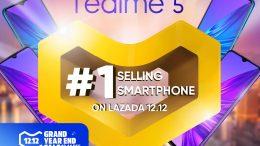 KV Realme claims top spot at Lazada 12.12