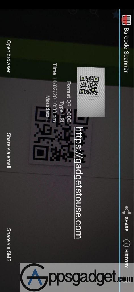 Barcode Reader by XZing