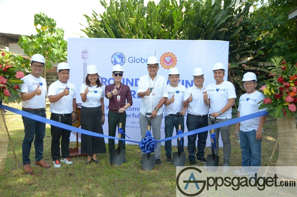 Globe to put up cell site in University of Mindanao Matina campus