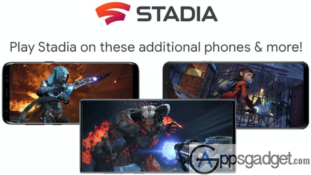Google Stadia  more phone support