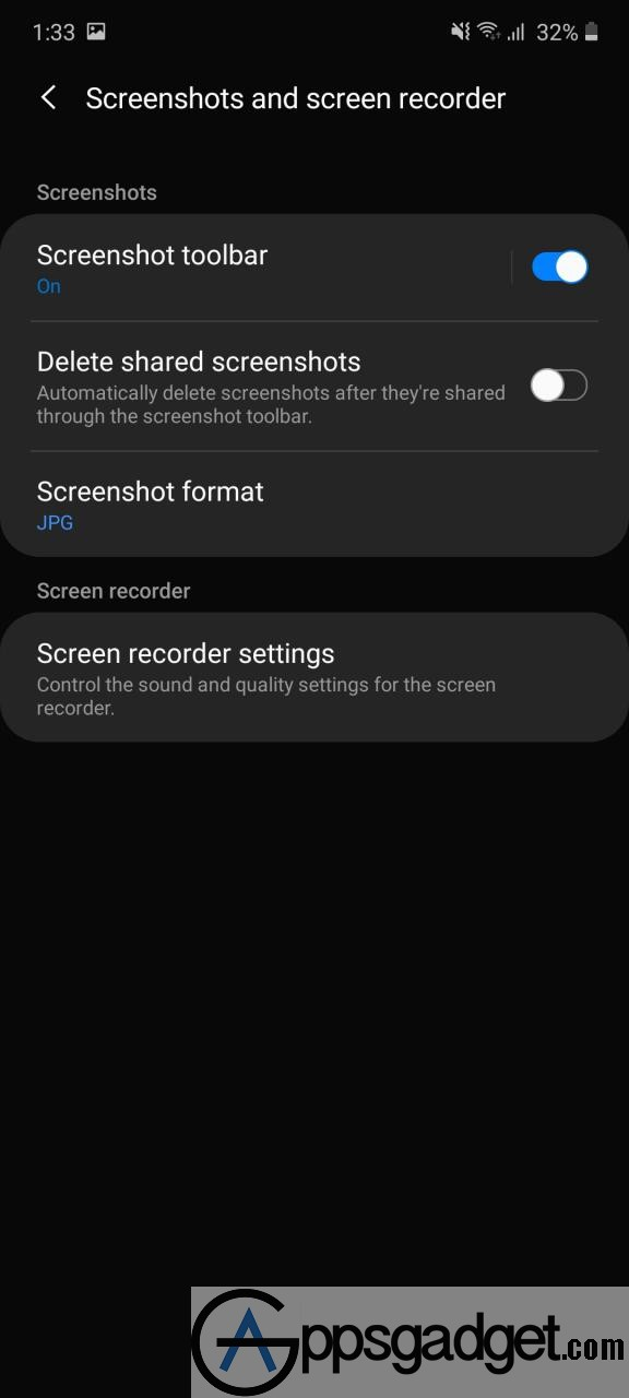 Screenshot   Samsung capture