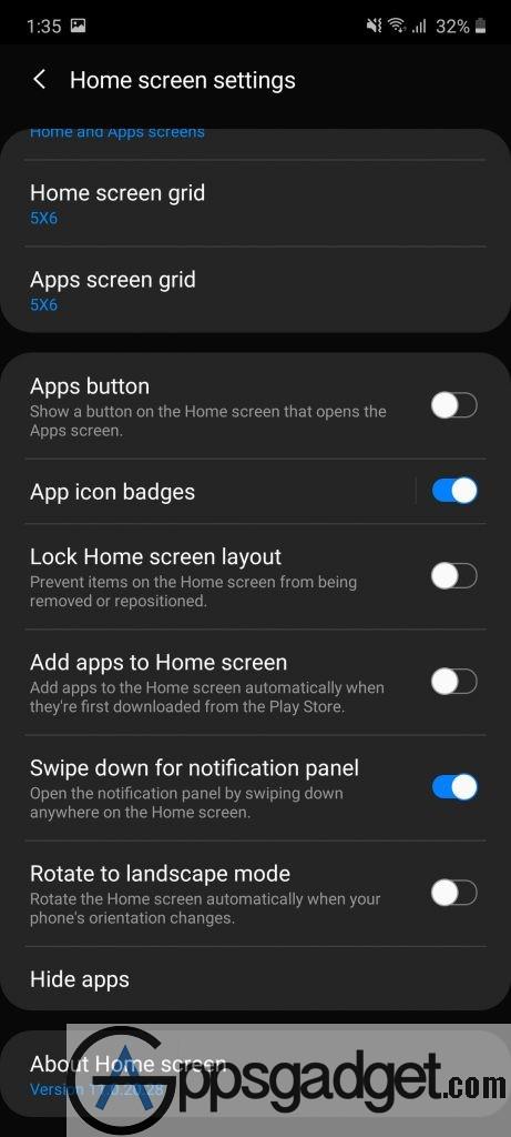 Screenshot   One UI Home