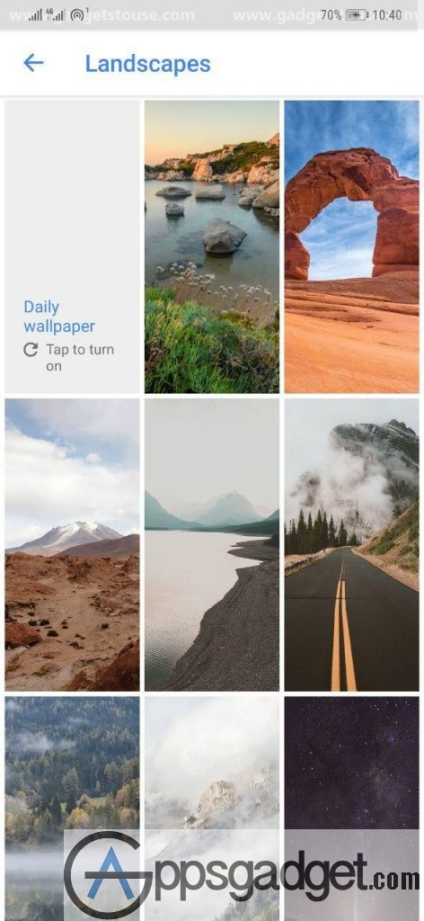 Wallpapers By Google  marked