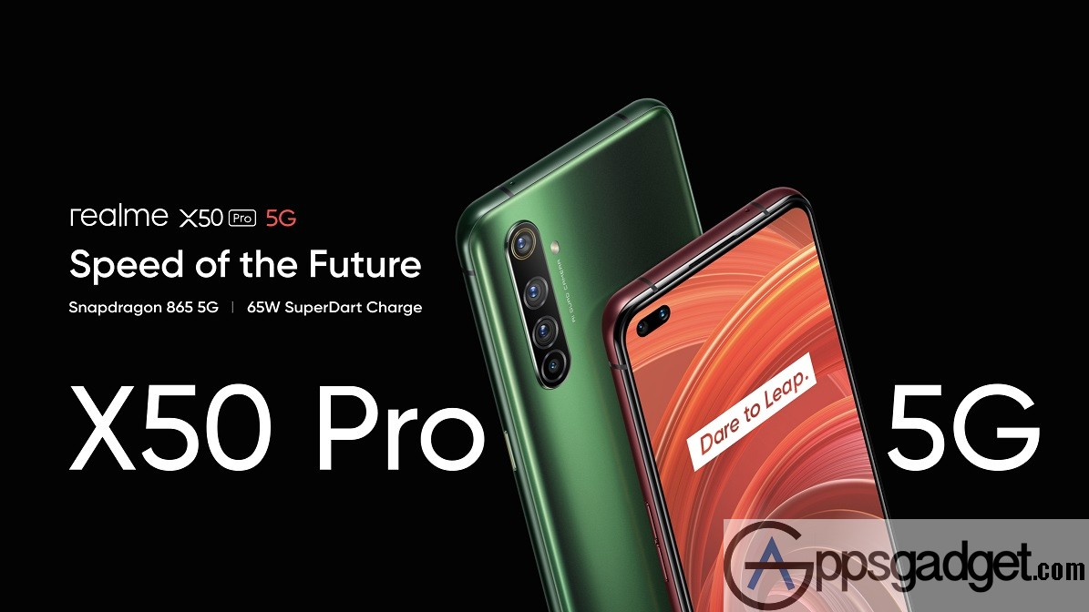 Realme X50 Pro 5G officially launched powered by Snapdragon™ 865 with 12GB RAM and 64MP Camera