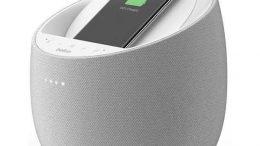 Belkin SoundForm Elite Hi-Fi Smart Home Speaker with Wireless Charger
