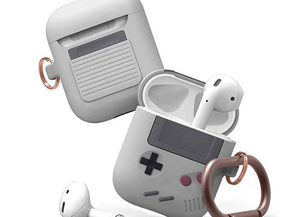 Elago AW5 AirPods Case Inspired by Game Boy